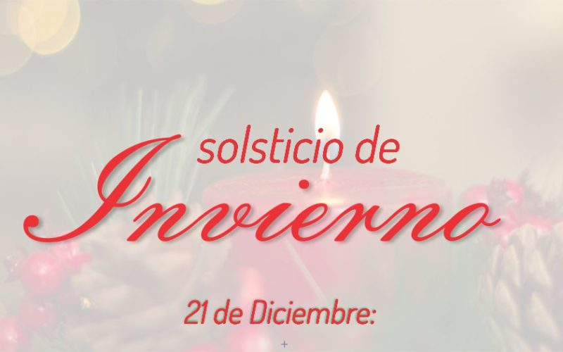 21 de Diciembre: Solsticio de Invierno