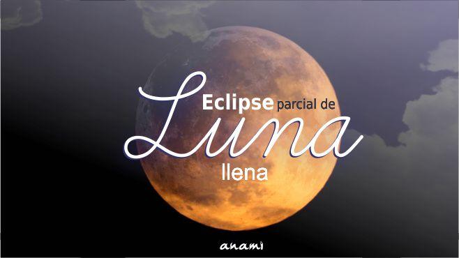 Eclipse de luna llena 16 de julio de 2019